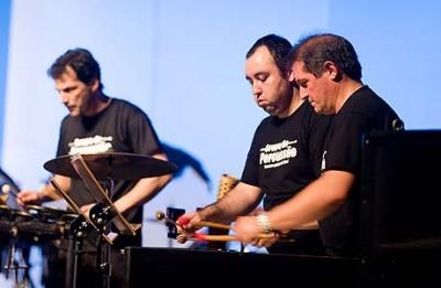 Grupo de Percussão do Conservatório de Tatuí