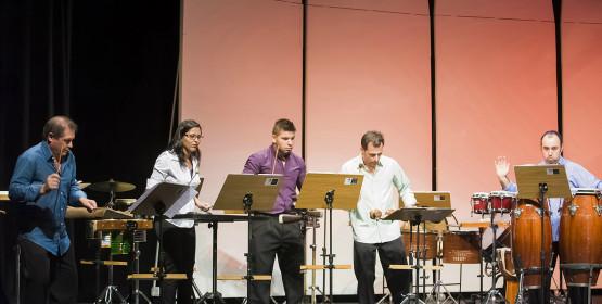 Grupo de Percussão traz universo de Hollywood a concertos didáticos