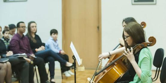 Recital reúne 11 alunos de violoncelo na sexta-feira, 4