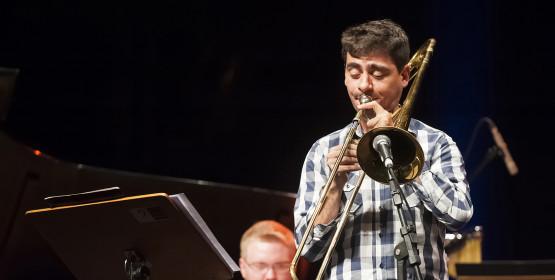 Big Band do Conservatório de Tatuí faz homenagem a Alan Palma