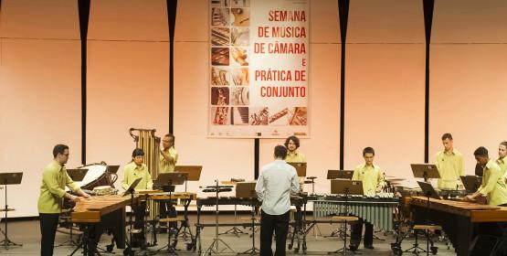 Grupo de Percussão Jovem apresenta-se no dia 17