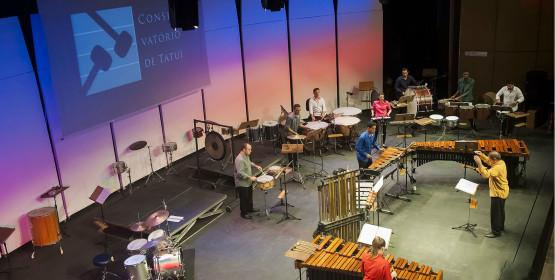 Grupo de Percussão do Conservatório de Tatuí apresenta concertos didáticos