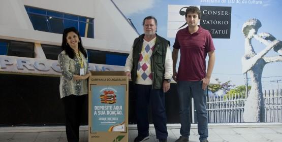 Conservatório de Tatuí participa da campanha do agasalho da CCR SPVias