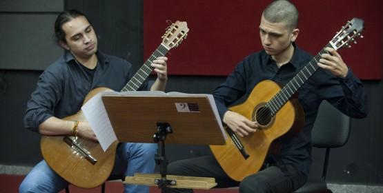 Conservatório de Tatuí retoma as audições com Alunos de Violão Clássico