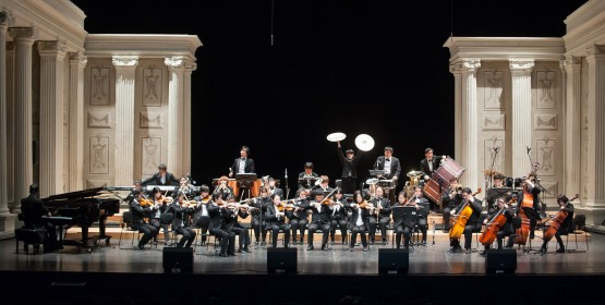 Conservatório de Tatuí recebe orquestra coreana formada por deficientes visuais