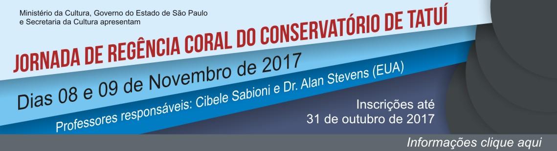 Jornada de Regência Coral do Conservatório de Tatuí