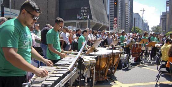 Banda Sinfônica do Conservatório de Tatuí faz  concerto especial em São Paulo