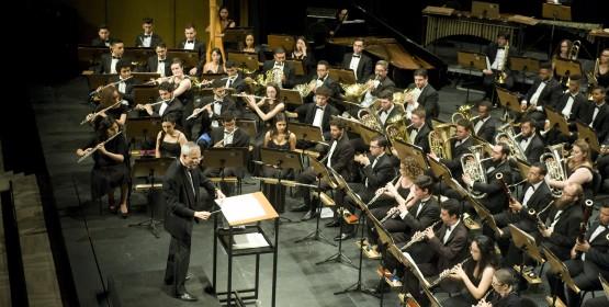 Banda Sinfônica do Conservatório de Tatuí realiza concerto gratuito neste sábado, dia 10 de março