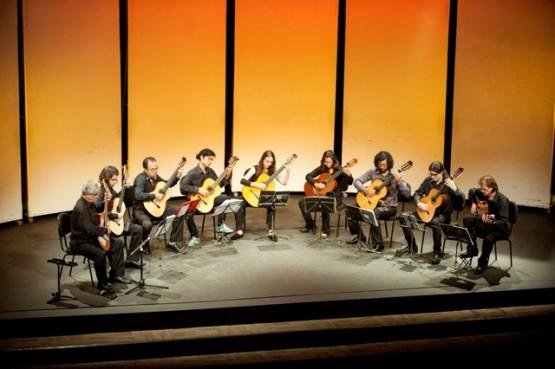 Cameratas de Violões fazem concerto neste sábado