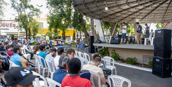 Conservatório de Tatuí leva provas de MPB/Jazz para a praça