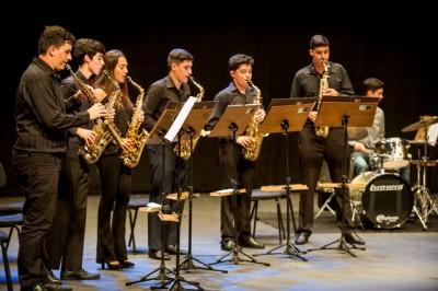 Grupo Jovem de Saxofones do Conservatório de Tatuí