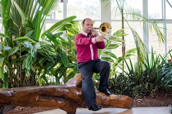 Alunos do CDMCC fazem recitais de trombone e piano