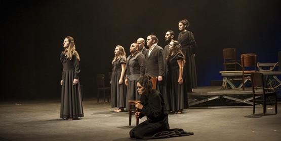 """Cia. de Teatro do Conservatório de Tatuí encena """"Senhora dos Afogados"""" de Nelson Rodrigues"""
