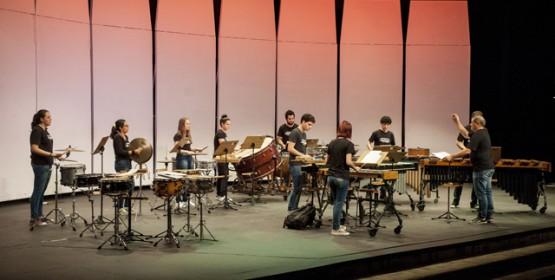 Projeto Música na Praça apresenta o Grupo de Percussão do Conservatório de Tatuí