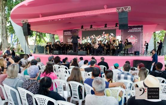 Conservatório de Tatuí leva música e teatro para a Feira do Doce