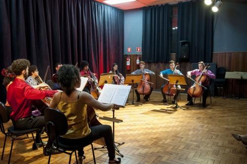 3ª MOSTRA DE PRÁTICA DE CONJUNTO: Orquestra de Violoncelos do Conservatório de Tatuí
