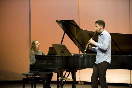 Equipe de Pianistas Colaboradores com Alunos de Sopros-Madeiras