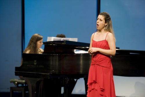 Equipe de Pianistas Colaboradores com alunos de Canto e Cordas
