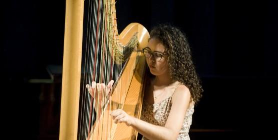 Aluna do Conservatório de Tatuí apresenta Recital de Harpa