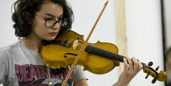 Conservatório de Tatuí promove recitais de violino, clarinete e canto lírico