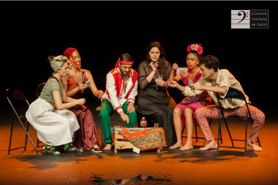 """Espetáculo """"Nós(otros)"""" do Conservatório de Tatuí é selecionado para a 2ª Mostra de Teatro Estudantil do TUSP"""