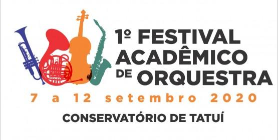 Vem aí: 1º Festival Acadêmico de Orquestra do Conservatório de Tatuí