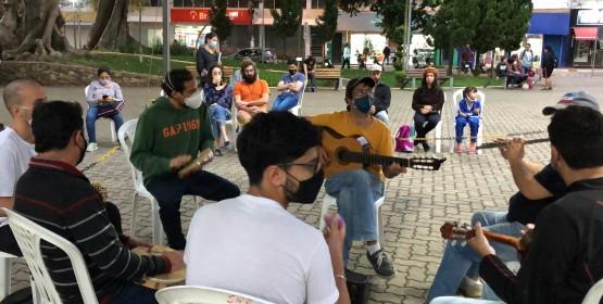Conservatório de Tatuí convida músicos e apreciadores para Rodas de Choro ao ar livre